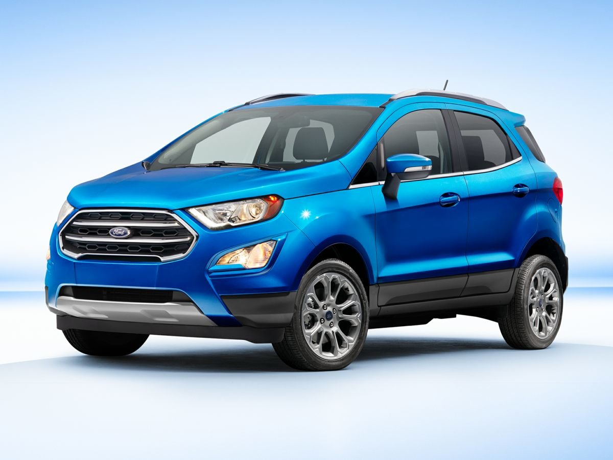 2018 Ford EcoSport SE 4 Door Automatic EcoBoost 1.0L I3 GTDi DOHC Turbocharged VCT Engine