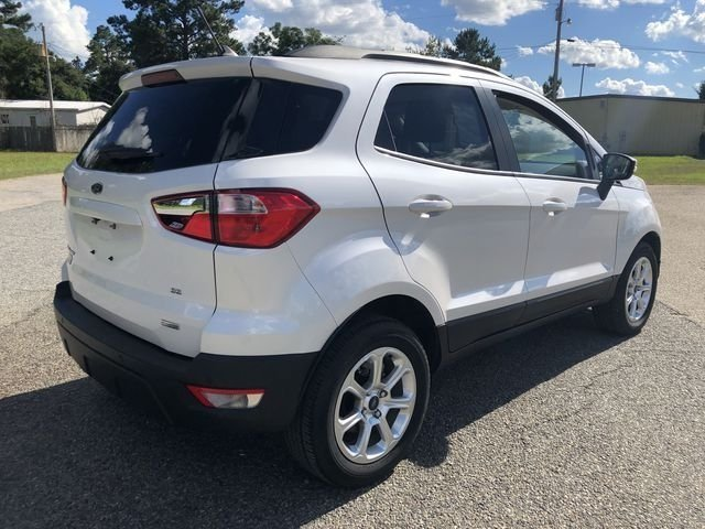 2018 Ford EcoSport SE EcoBoost 1.0L I3 GTDi DOHC Turbocharged VCT Engine Automatic SUV FWD 4 Door