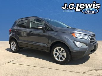 2018 Ford EcoSport SE Automatic EcoBoost 1.0L I3 GTDi DOHC Turbocharged VCT Engine FWD SUV 4 Door