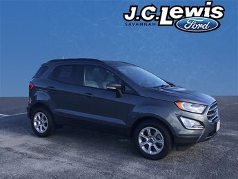 2018 Smoke Metallic Ford EcoSport SE EcoBoost 1.0L I3 GTDi DOHC Turbocharged VCT Engine FWD 4 Door