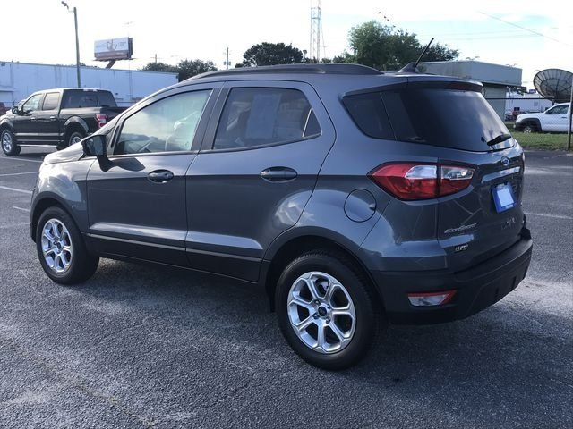 2018 Ford EcoSport SE 4 Door SUV Automatic EcoBoost 1.0L I3 GTDi DOHC Turbocharged VCT Engine FWD