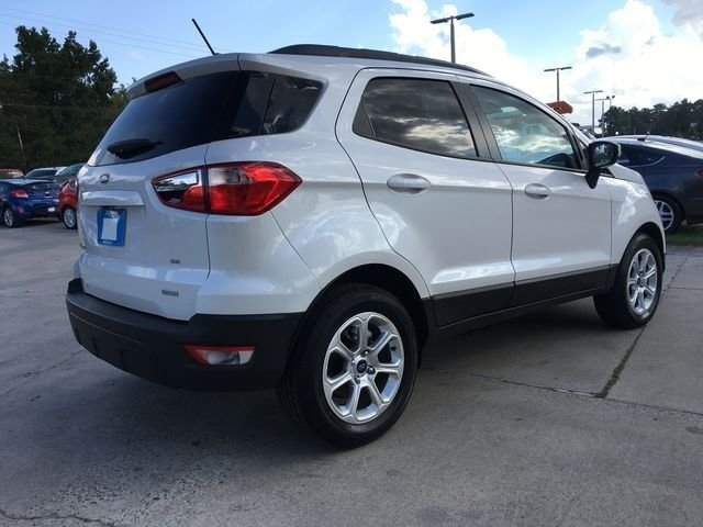 2018 Ford EcoSport SE SUV EcoBoost 1.0L I3 GTDi DOHC Turbocharged VCT Engine 4 Door Automatic