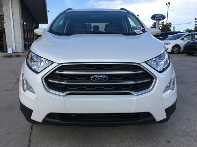 2018 Ford EcoSport SE EcoBoost 1.0L I3 GTDi DOHC Turbocharged VCT Engine Automatic 4 Door SUV
