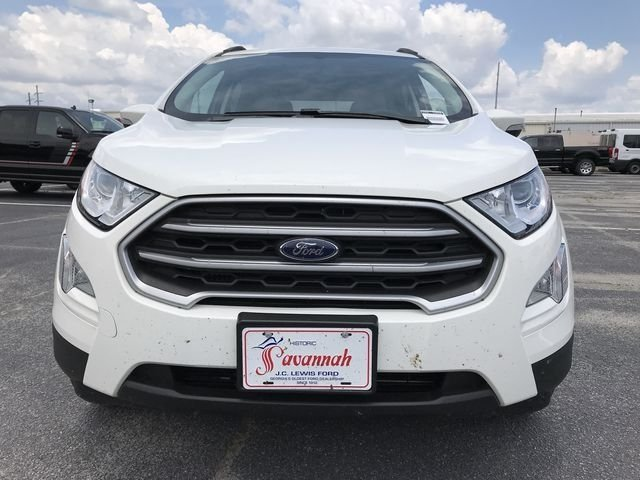 2018 Ford EcoSport SE FWD Automatic EcoBoost 1.0L I3 GTDi DOHC Turbocharged VCT Engine 4 Door SUV