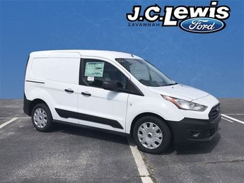 2019 White Metallic Ford Transit Connect XL I4 Engine Automatic FWD