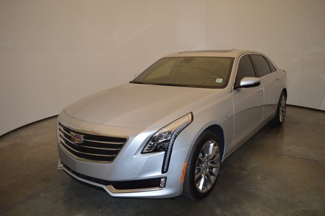 2018 Radiant Silver Metallic Cadillac CT6 Luxury AWD 4 Door Automatic Sedan