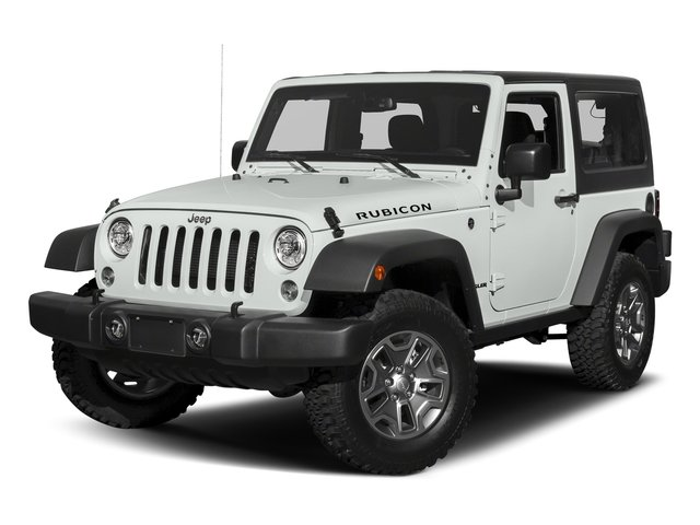 2018 Bright White Clearcoat Jeep Wrangler JK Rubicon 4X4 Automatic SUV 2 Door Gas V6 3.6L Engine