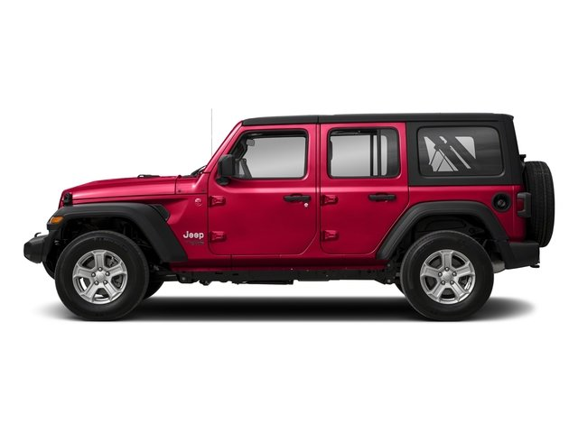 2018 Jeep Wrangler Unlimited Sahara 4X4 Automatic SUV 4 Door