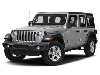 2018 Jeep Wrangler Unlimited Sahara SUV Regular Unleaded V-6 3.6 L/220 Engine 4X4 4 Door
