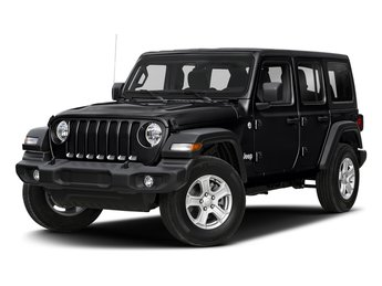 2018 Black Clearcoat Jeep Wrangler Unlimited Sahara SUV 4 Door Automatic Regular Unleaded V-6 3.6 L/220 Engine
