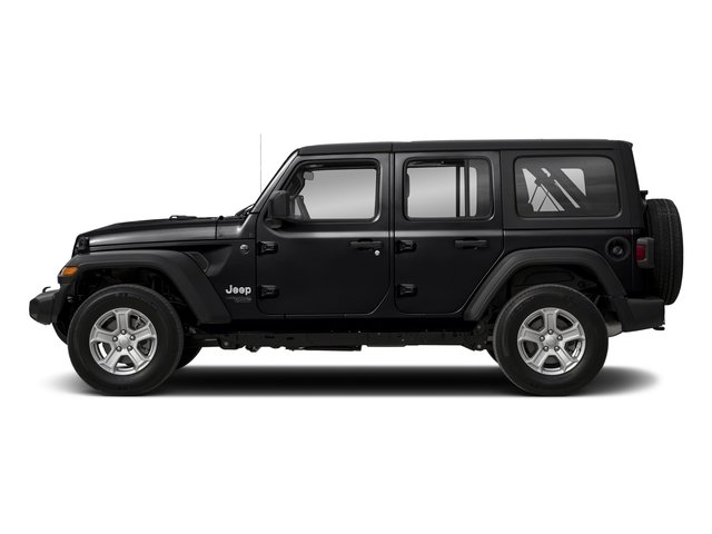 2018 Black Clearcoat Jeep Wrangler Unlimited Sahara SUV Regular Unleaded V-6 3.6 L/220 Engine 4 Door Automatic 4X4