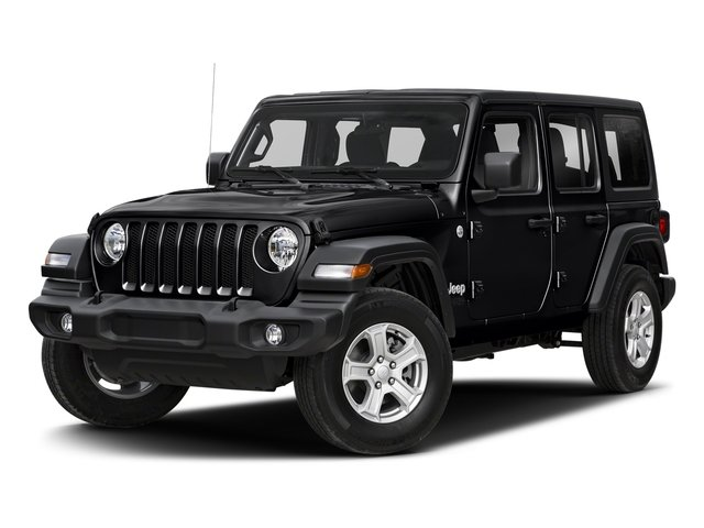 2018 Black Clearcoat Jeep Wrangler Unlimited Sahara 4 Door SUV 4X4