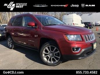 2015 Deep Cherry Red Crystal Pearlcoat Jeep Compass Limited 4 Door SUV 4X4