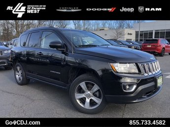 2016 Black Clearcoat Jeep Compass High Altitude Edition 4 Door 4X4 Regular Unleaded I-4 2.4 L/144 Engine