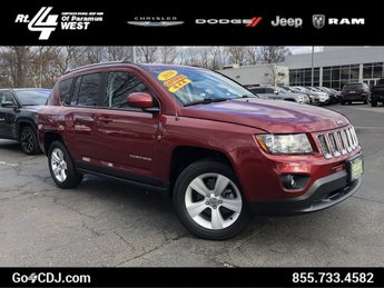 2016 Deep Cherry Red Crystal Pearlcoat Jeep Compass Latitude Regular Unleaded I-4 2.4 L/144 Engine SUV 4 Door Automatic 4X4