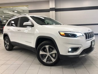 2019 Bright White Clearcoat Jeep Cherokee Limited AWD 4 Door Automatic Regular Unleaded V-6 3.2 L/198 Engine