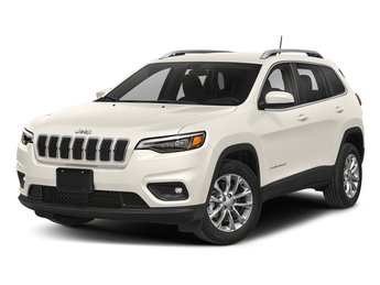 2019 Pearl White Pearlcoat Jeep Cherokee Overland Automatic AWD 4 Door SUV Regular Unleaded V-6 3.2 L/198 Engine