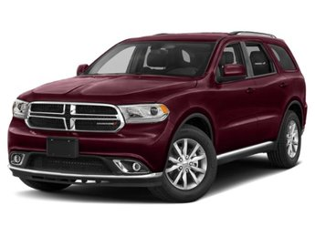 2019 Octane Red Pearlcoat Dodge Durango SXT Plus 4 Door 4X4 Automatic