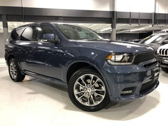 2019 Reactor Blue Pearlcoat Dodge Durango GT Plus 4X4 Automatic SUV Regular Unleaded V-6 3.6 L/220 Engine