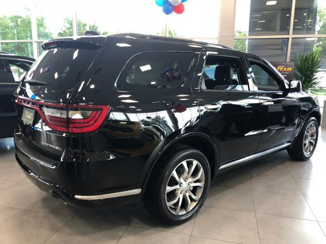2018 DB Black Crystal Clearcoat Dodge Durango Citadel Anodized Platinum 4 Door Regular Unleaded V-6 3.6 L/220 Engine Automatic