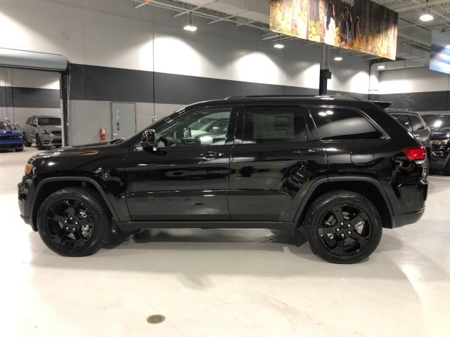 2019 Diamond Black Crystal Pearlcoat Jeep Grand Cherokee Upland Regular Unleaded V-6 3.6 L/220 Engine 4X4 Automatic
