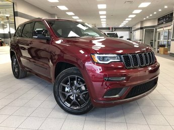 2019 Velvet Red Pearlcoat Jeep Grand Cherokee Limited X 4X4 4 Door SUV Automatic Regular Unleaded V-6 3.6 L/220 Engine