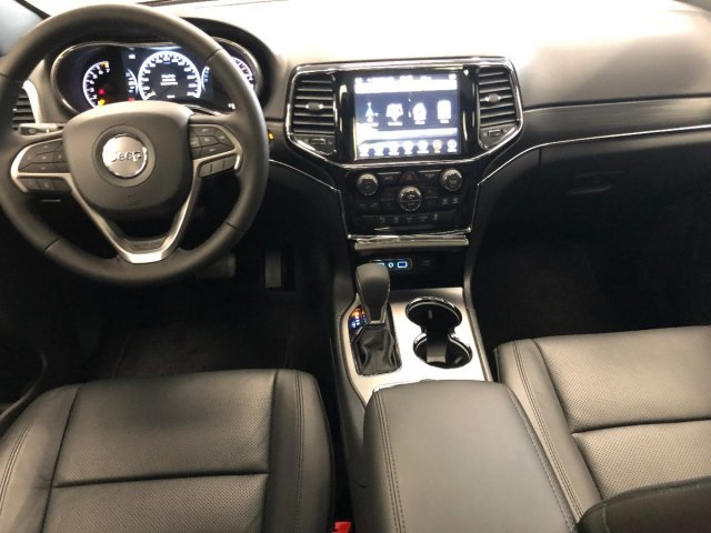 2019 Bright White Clearcoat Jeep Grand Cherokee Limited 4 Door 4X4 Regular Unleaded V-6 3.6 L/220 Engine