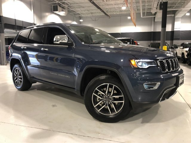 2019 Jeep Grand Cherokee Limited 4 Door Regular Unleaded V-6 3.6 L/220 Engine Automatic