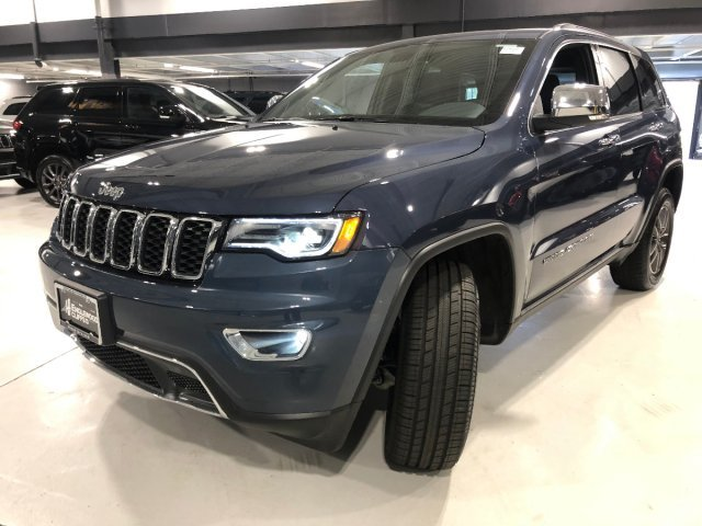 2019 Jeep Grand Cherokee Limited 4 Door 4X4 Automatic Regular Unleaded V-6 3.6 L/220 Engine SUV