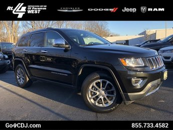 2015 Jeep Grand Cherokee Limited Automatic 4X4 SUV 4 Door Regular Unleaded V-6 3.6 L/220 Engine