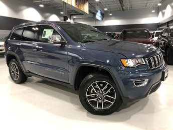 2019 Jeep Grand Cherokee Limited Automatic 4 Door 4X4 Regular Unleaded V-6 3.6 L/220 Engine