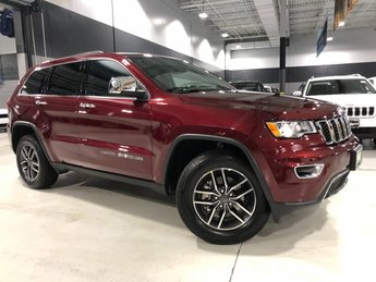 2019 Velvet Red Pearlcoat Jeep Grand Cherokee Limited 4 Door Automatic 4X4