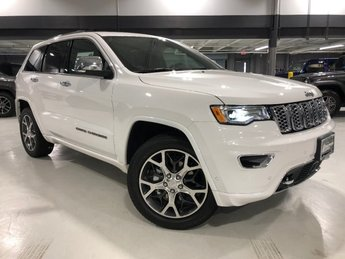2019 Ivory 3-Coat Jeep Grand Cherokee Overland 4X4 SUV 4 Door Automatic Regular Unleaded V-6 3.6 L/220 Engine