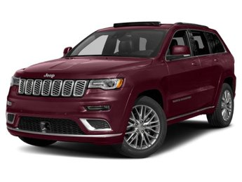 2019 Jeep Grand Cherokee Summit Regular Unleaded V-6 3.6 L/220 Engine Automatic SUV