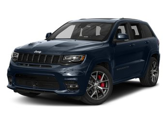 2018 True Blue Pearlcoat Jeep Grand Cherokee Trackhawk SUV 4 Door Intercooled Supercharger Premium Unleaded V-8 6.2 L/376 Engine Automatic