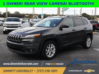 2016 Jeep Cherokee Latitude 2.4L 4-Cylinder SMPI SOHC Engine Automatic SUV FWD 4 Door