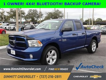 2015 Ram 1500 Express HEMI 5.7L V8 Multi Displacement VVT Engine Truck 4 Door 4X4 Automatic
