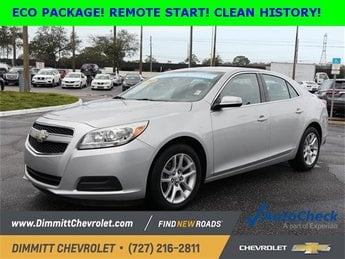 2013 Chevy Malibu ECO Sedan 4 Door Automatic FWD