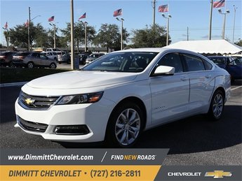 2019 Summit White Chevy Impala LT Sedan 3.6L V6 DI DOHC Engine Automatic