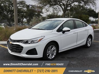 2019 Summit White Chevy Cruze LS 4 Door 1.4L 4-Cylinder Turbo DOHC CVVT Engine FWD Automatic Sedan