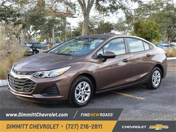 2019 Chevy Cruze LS Sedan 4 Door 1.4L 4-Cylinder Turbo DOHC CVVT Engine