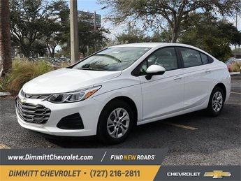 2019 Chevy Cruze LS FWD 1.4L 4-Cylinder Turbo DOHC CVVT Engine 4 Door Automatic Sedan