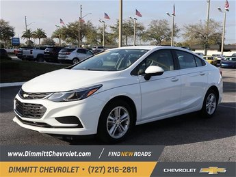 2018 Chevy Cruze LT Automatic 4 Door FWD