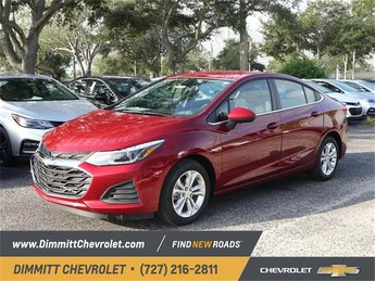 2019 Cajun Red Tintcoat Chevy Cruze LT Sedan 4 Door FWD 1.4L 4-Cylinder Turbo DOHC CVVT Engine