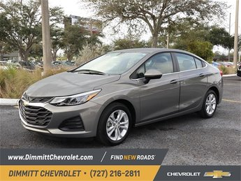 2019 Pepperdust Metallic Chevy Cruze LT 1.4L 4-Cylinder Turbo DOHC CVVT Engine Sedan 4 Door Automatic