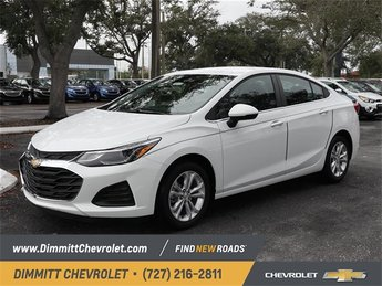 2019 Summit White Chevy Cruze LT 4 Door FWD 1.4L 4-Cylinder Turbo DOHC CVVT Engine Automatic Sedan
