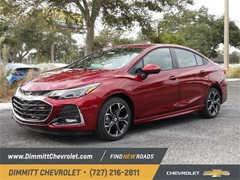 2019 Chevy Cruze LT Sedan 1.4L 4-Cylinder Turbo DOHC CVVT Engine FWD Automatic