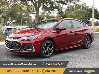 2019 Cajun Red Tintcoat Chevy Cruze LT Automatic 4 Door 1.4L 4-Cylinder Turbo DOHC CVVT Engine