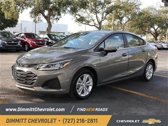 2019 Pepperdust Metallic Chevy Cruze LT 4 Door 1.4L 4-Cylinder Turbo DOHC CVVT Engine FWD Sedan