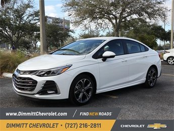 2019 Summit White Chevy Cruze LT Automatic FWD Sedan 4 Door